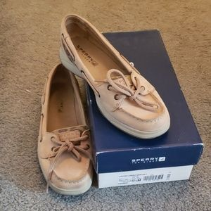 Sperry Top-Spider cheetah print shoes